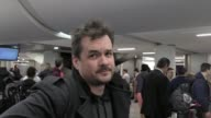 INTERVIEW Jim Jefferies talks about how long you have to wait after a celebrity dies to joke about them while arriving at LAX Airport in Los Angeles...