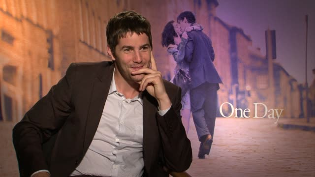 Jim Sturgess describes why he was blissfully unaware how big a hit the book was until the movie was finished at the Focus Features' 'One Day'...