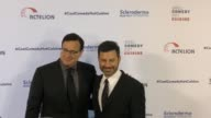 Jimmy Kimmell and Bob Saget at the Cool Comedy Hot Cuisine 30th Annual Benefit For The Scleroderma Research Foundation at the Beverly Wilshire Four...