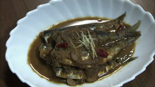 Jindani, A Simmered Fish Dish, Fukuoka, Japan