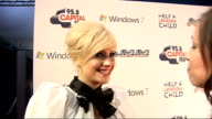 celebrity interviews backstage Pixie Lott interview SOT Loved it Wish I could have done more songs Great to be playing at O2 highlight of year album...