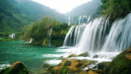 Jiulong nine dragon waterfall yunnan china