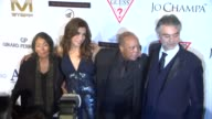 Jo Champa Quincy Jones and Andrea Bocelli at Andrea Bocelli Foundation's 2011 Benefit Gala on 12/9/2011 in Beverly Hills CA