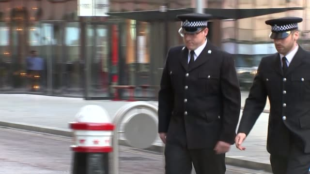 Court told of MP's final moments London Police officers Jonathan Wright and Craig Nicholls who detained Mair arriving at the Old Bailey
