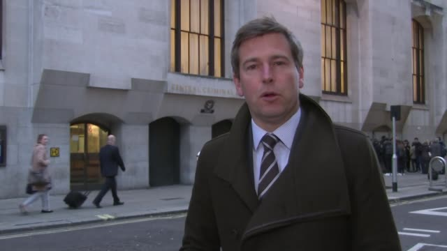 emergency phone call played to court Old Bailey Reporter to camera