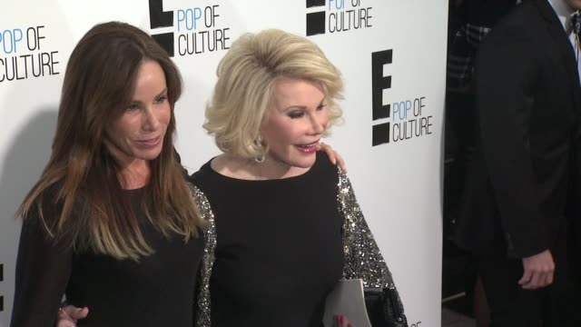 Joan Rivers Melissa Rivers at E Upfront 2012 at Gotham Hall on April 30 2012 in New York New York