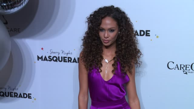 Joan Smalls at Daniel E Straus CareOne Starry Night Masquerade For Puerto Rico at Skylight Clarkson Sq on October 19 2017 in New York City