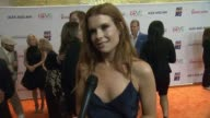 INTERVIEW JoAnna Garcia Swisher on tonight's event and on being here to support her friend JamieLynn at The 24th Annual Race to Erase MS Gala in Los...