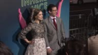 Joanna Newsom and Andy Samberg at the 'Inherent Vice' Los Angeles Premiere at TCL Chinese Theatre IMAX on December 10 2014 in Hollywood California
