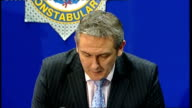 police confirm strangulation as cause of death Police press conference ****PICTURES ENGLAND Somerset Bristol INT Chief Superintendent Jon Stratford...