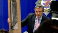 police reveal one sock was missing when body was found Jones press conference SOT If I could move on to CCTV footage / I am aware of the CCTV footage...
