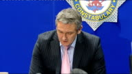 police reveal one sock was missing when body was found INT Detective Chief Inspector Phil Jones press conference SOT thanks for your patience / Keep...