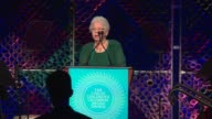 SPEECH Joanne Rogers speaks at UNICEF Children's Chamption Award Dinner Honoring YoYo Ma and Ally and Bill Achtmeyer at The Castle at Park Plaza on...