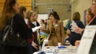 Job fair unemployment employment Job Fair on April 10 2013 in Oglesby Illinois