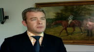 Jockey Paul O'Neill headbutts his horse LOCATION Paul Struthers interview SOT On possible penalties for headbutting a horse