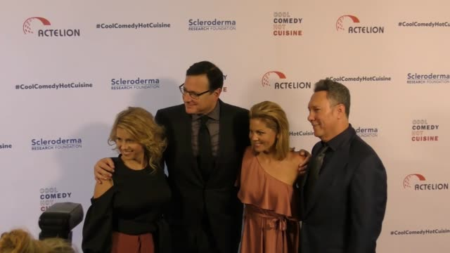 Jodie Sweetin Bob Saget and Jeff Franklin at the Cool Comedy Hot Cuisine 30th Annual Benefit For The Scleroderma Research Foundation at the Beverly...