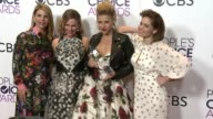 Jodie Sweetin Lori Loughlin Andrea Barber and Candace Cameron Bure at the People's Choice Awards 2017 at Microsoft Theater on January 18 2017 in Los...