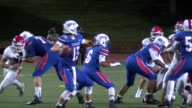 Joe Caplis is starting quarterback for Cherry Creek High School the defending state champions