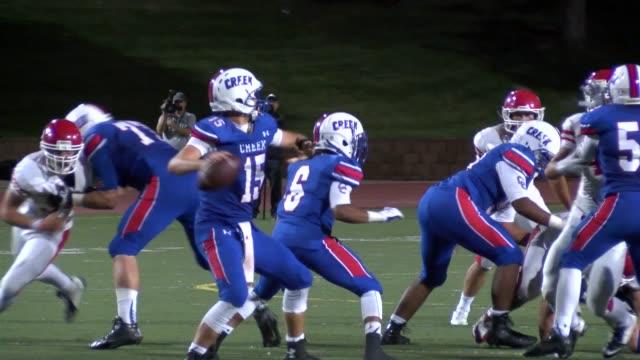 Joe Caplis is starting quarterback for Cherry Creek High School the defending state champions