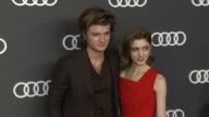 Joe Keery Natalia Dyer at Audi Celebrates the 69th Emmys® in Los Angeles CA