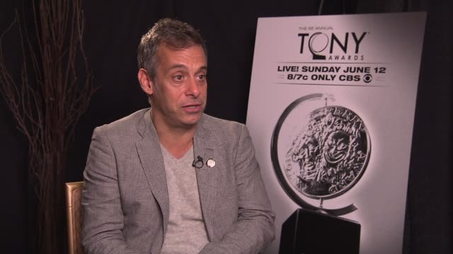 Joe Mantello says it's surreal to be nominated for acting describes his favorite Tony memory at the Gershwin Theatre says he loved when Angela...