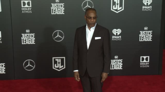 Joe Morton at the 'Justice League' World Premiere at Dolby Theatre on November 13 2017 in Hollywood California