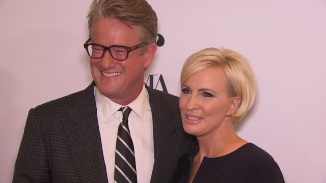 Joe Scarborough and Mika Brzezinski at Daily Front Row's Fashion Media Awards at Four Seasons Hotel New York Downtown on September 08 2017 in New...