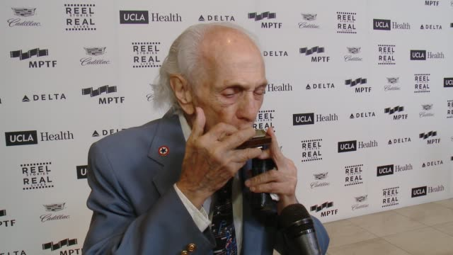 INTERVIEW Joe Siracusa plays harmonica at 4th Annual Reel Stories Real Lives Benefiting The Motion Picture Television Fund at Milk Studios on April...