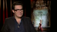 Joe Wright on the modern feel of his version of the film and on using stage as a focal point of the film at 'Anna Karenina' Los Angeles Press Junket...