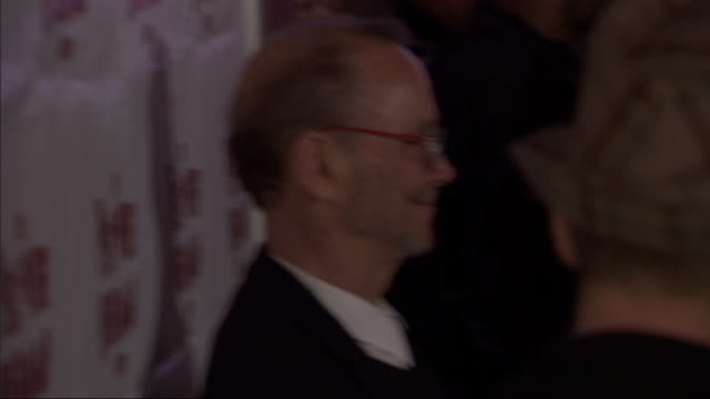 MCU Joel Grey posing for paparazzi on the red carpet at the Stephen Sondheim Theater in New York City