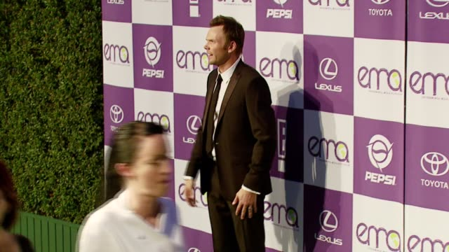 Joel McHale at the 2007 EMA Awards at the Wilshire Ebell Theatre and Club in Los Angeles California on October 24 2007
