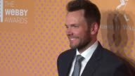 Joel McHale at The 21st Annual Webby Awards Arrivals at Cipriani Wall Street on May 15 2017 in New York City