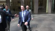 Joel Osteen exits SiriusXM Satellite Radio answers TMZ questions while walking to his car in Celebrity Sightings in New York