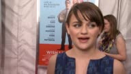 INTERVIEW Joey King on being a backer on the kickstarter before even working on the film on the meaning of what family is in this movie on loving...