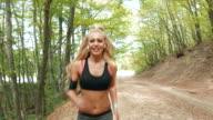 Jogging im park