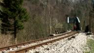 HD: Jogging On The Railroad
