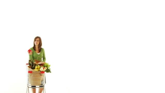 Joggling Vegetable Girl
