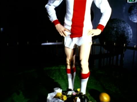Johan Cruijff figure in Madame Tussauds Amsterdam / Amsterdam NoordHolland Netherlands