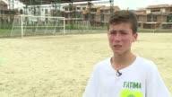 Johan Ramirez el Nino Angel que ayudo a rescatar a los sobrevivientes del accidente aereo en Colombia del equipo brasileno Chapecoense suena con ser...