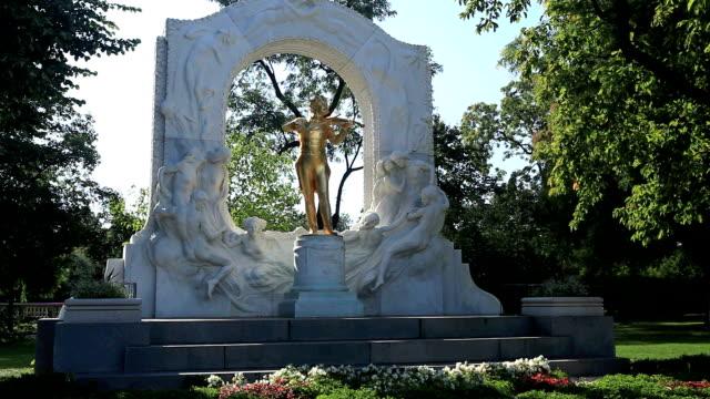 Statua di Johann Strauss erano di casa, Vienna