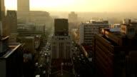 Johannesburg città di alba