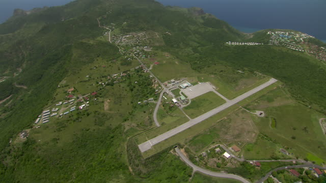 John A. Osborne Airport on the Caribbean island of Montserrat.