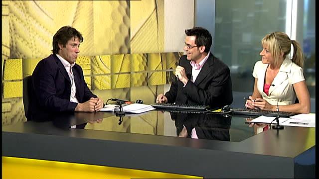 John Bishop studio interview INT Bishop interview SOT