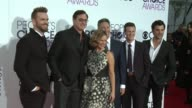 John Brotherton Bob Saget Andrea Barber Jeff Franklin Scott Weinger Juan Pablo Di Pace at People's Choice Awards 2017 in Los Angeles CA