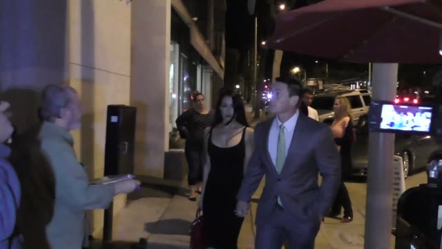 INTERVIEW John Cena Brie Bella and Nikki Bella on if Ronda Rousey should enter the WWE outside Craig's in West Hollywood at Celebrity Sightings in...