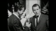 John Forsythe interview on the set of Madame X