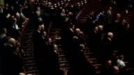 MS John glenn addressing joint congress