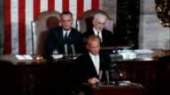 WS ZI ZO PAN John Glenn addressing joint congress