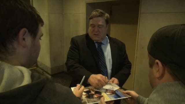 John Goodman leaves the TODAY show signs for fans in Celebrity Sightings in New York