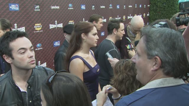 John Hensley and Amanda Righetti at the Spike TV's SCREAM 2008 at Los Angeles CA